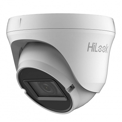 HiLook by HIKVision THC-T320-VF(2.8-12mm) 1080 2MP PI66 HD-TVI/AHD/CVI/CVBS VF Turret Camera 40m IR DC12V