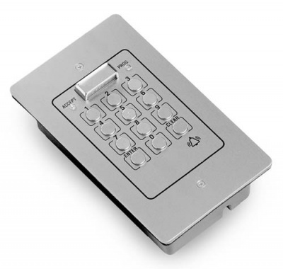 Videx 810N/A Flush Mounting Aluminium Access Control Keypad with Single Code(20PF)