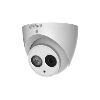 Dahua IPC-HDW4431EM-ASE-0280 4MP IP Dome Camera 2.8mm 50m IR Audio Mic Micro SD 12V-PoE