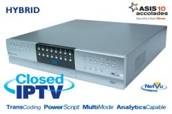 Dedicated Micros 16CH SD Analog-closed IP 3TB 400PPS DVR/NVR + DVD