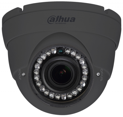 Dahua HAC-HDW1200-R-VF-S3A-G 2MP HDCVI-TVI-AHD-CVBS Dome Camera 2.7-12mm VF 30m IR 12VDC