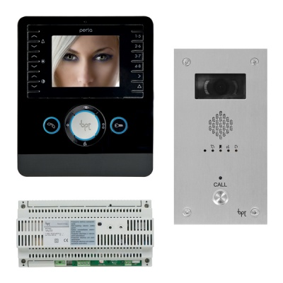 BPT Perla 2 to 6 way Kits with VR Video entry Panels