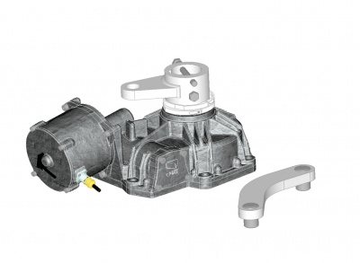 Came FROG-PM4 self locking gearmotor 5.5m Per Leaf