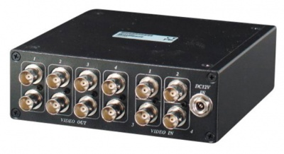 Genie CCTV GCD08HD 4 in - 8 out AHD/CVBS Video Distributor