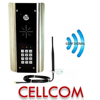 AES Cellcom Prime GSM-5K Architectural Keypad Intercom
