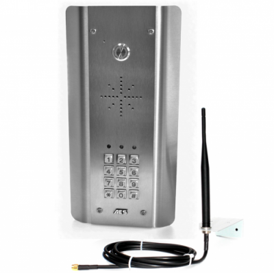 AES GSM-5ASK SS panel with keypad