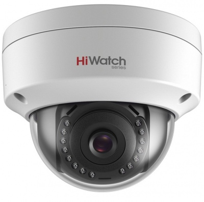 HiWatch IPC-D120 1080p 2MP IP Network Camera 30m IR 2.8mm lens WDR
