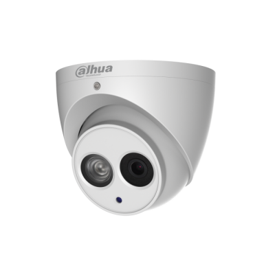 Dahua IPC-HDW4431EM-AS-S4 4MP IP Turret Camera 2.8 or 3.6mm 50m IR Audio Mic Micro SD ePoe