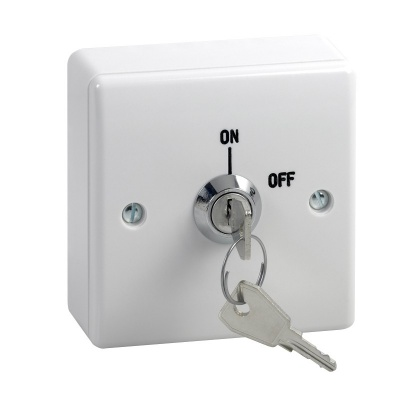 SSP Single gang 2 position key switch