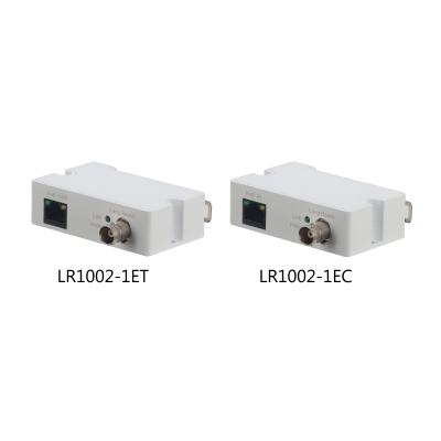 Dahua LR1002-1ET/LR1002-1EC Single-Port Long Reach Ethernet over Coax Extender
