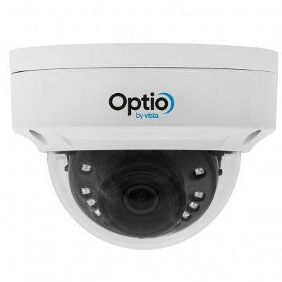 Optio Vista OPA4VD28IR 4MP CVI/TVI/AHD/CVBS VANDAL DOME 2.8MM 30m IR 12VDC