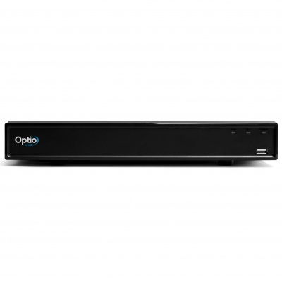 Optio Vista OPNVR16 16CH 4K 10FPS IP Network Recorder H.265 PoE