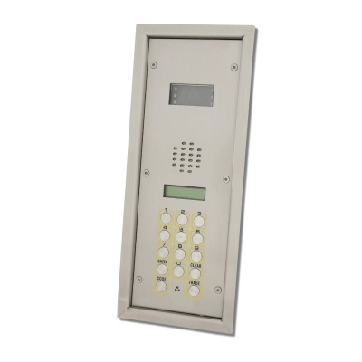Videx 4302FVR/C Vandal Resistant Colour Video Door Entry Panel with Keypad