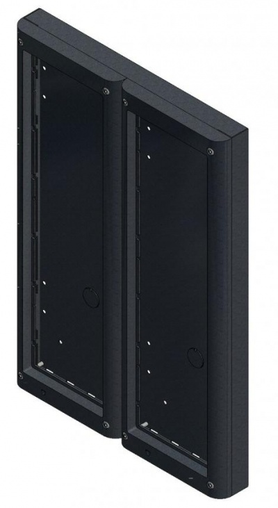 Videx 4886 Six Module Surface Backboxes with Surround for 4000 Series Door Panels