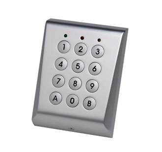Videx VKP99 Vandal Resistant 99 code surface keypad 12-24V AC or DC (IP667)