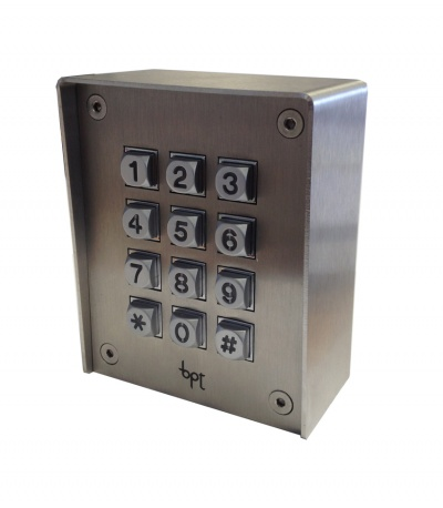 BPT VRACX VR stand alone keypad to match VR panels