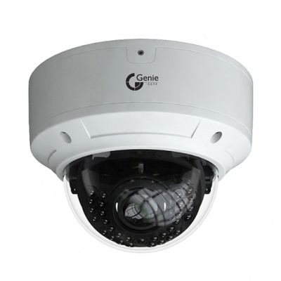 Genie WIP5VDV5S WISH IP H.265 5MP IR Varifocal STARVIS Vandal Dome Camera