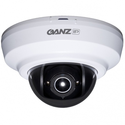 GANZ ZN-MD1243M-IR 1080p H.264 HD Optimized Dome Camera