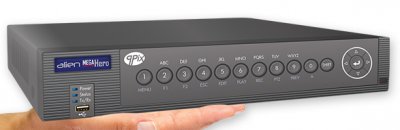 Alien MEGA204 Hero 4 channel Hybrid DVR HD-TVI IP Analogue