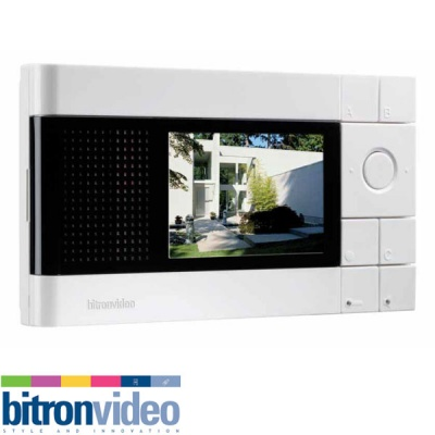 Bitron Video T-LINE AV2850/1 T-line colour hands free video with TFT 4