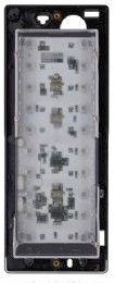 BPT Thangram DPO Supplementary pushbutton panel