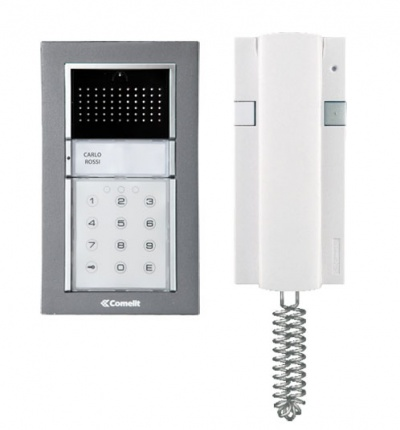 Comelit iCall Surface 1 way Audio Entry Kit with keypad