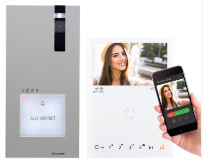 Comelit 8561V Quadra ViP 1 Family kit with WIFI App call