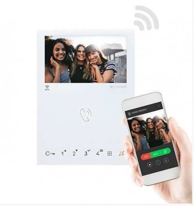 Comelit 6741W mini handsfree WiFi monitor