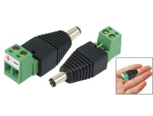 2.1mm DC Power Jack Connector - Male