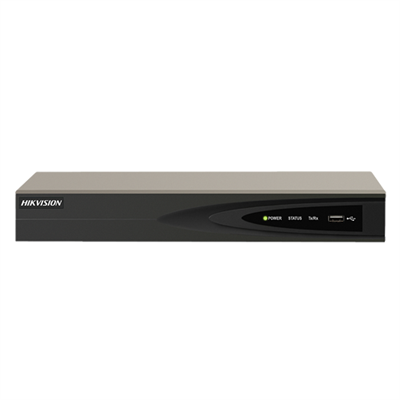 Hikvision DS-7604NI-K1/4P(B) Embedded Plug & Play 4K NVR