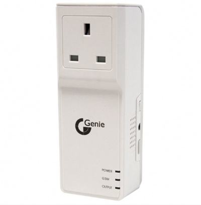 Genie CCTV GSMSOCUK Inteligent UK Power Socket