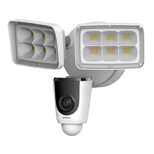IMOU IPC-L26P Floodlight Cam 1080p HD CCTV Camera IP65 30m IR Motion Detection Alarm 16X digital zoom micro SD