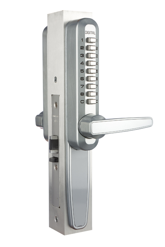 Lockey 7070 Super 8 Handle With Retrofit For Adams Rite Locks