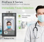 ZKTeco Proface-X TD Biometric face reader with temperature and mask detection