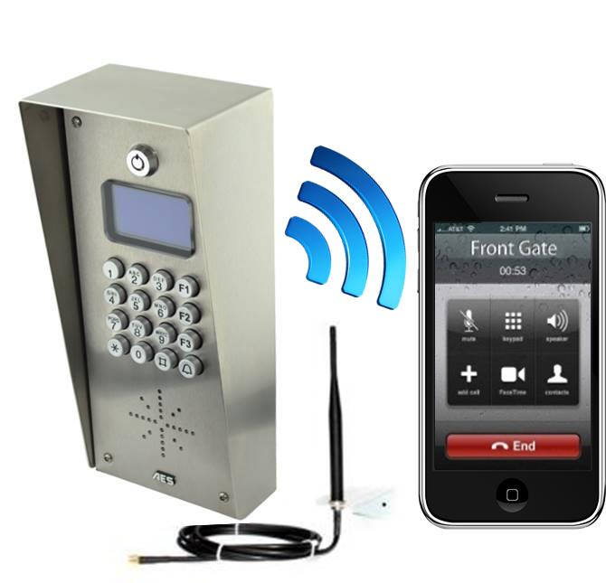 Gsm Multicom Multiple Apartment Gsm Door Entry System