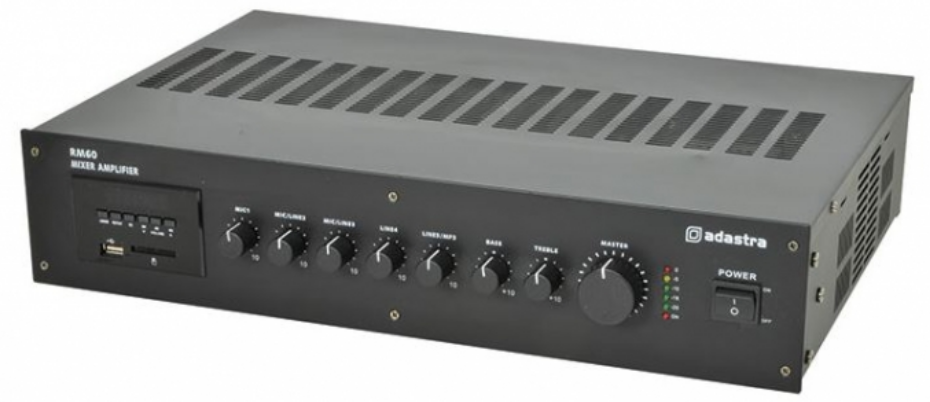 Online Security Products Pa Amp 120 Watts Total Output Mic