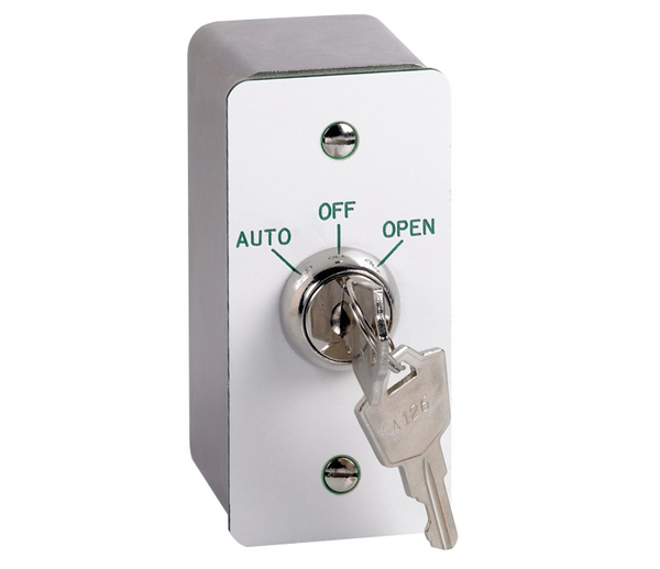 Surface Fitting 3 Position Key Switch