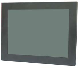 Ganz LMEG10 10'' LED CCTV monitor metal case BNC VGA