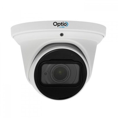 Optio Vista OPI4ED28V12IR 4MP IP H.265 Eyeball Dome 2.8mm~12mm IR 50m DC12V, PoE
