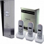 AES 703-HS multi button DECT kits up to 8 apartments