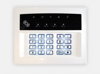 Pyronix LEDRKP/WHITE-WE Wireless Remote Keypad