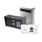 AES 603-HF-IMPK-PED 603 DECT Imperial Pedestal Kit with keypad Black