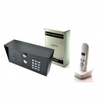 AES 603-IMPK-PED 603 DECT Imperial Pedestal Kit with keypad black