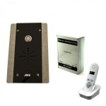 AES 603-FB DECT 1 Call Button Wireless Intercom Kit