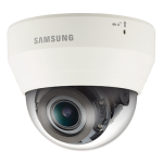 Samsung Techwin QND-6070R 2 Megapixel Full HD Network IR Dome Camera