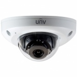 UNV UIPC314SR-DVPF28 4MP IP Dome CCTV Camera 2.8mm 15m smart IR Built in Mic PoE