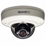GANZ ZN-MD221M 1080p Outdoor Vandal-Resistant IP Mini Dome 2.1mm Lens