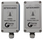 Genie Wireless AHD transmitter 5.8GHz 720P IP66 Pair 7 channels