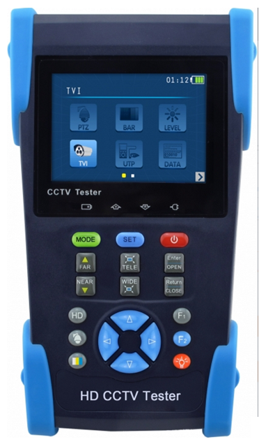 Twilight Pro CCTV Tester HD-TVI and Analogue