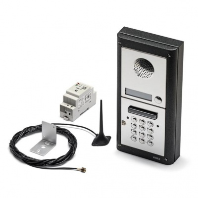 Videx 4000 series GSM audio kits with keypad for 1 - 10 apartments